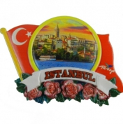 Toptan Polyester İstanbul Magnet