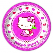 TABAK HELLO KITTY HEARTS 23cm PK:8-12