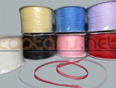 3 mm Organze Kurdele 500 metre